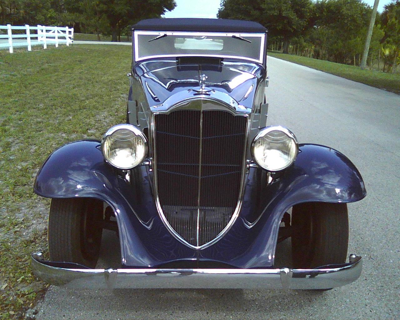 1932 SHOVELNOSE PACKARD ROADSTER