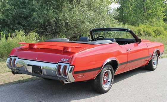 1970 OLDSMOBILE 442-W30 CONVERTIBLE