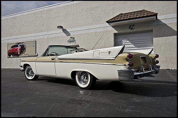 1957 DODGE CUSTOM ROYAL CONVERTIBLE