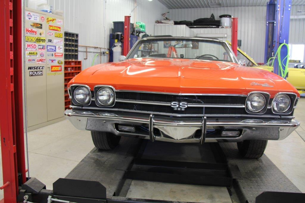 1969 CHEVELLE 396 4 SPEED CONVERTIBLE