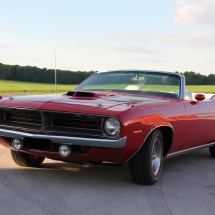 1970 CUDA 4 SPEED CONVERTIBLE UPGRADE TO 426 HEMI
