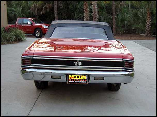 1967 CHEVELLE 396/350HP CONVERTIBLE