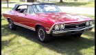 1968 CHEVELLE SS 396 CONVERTIBLE