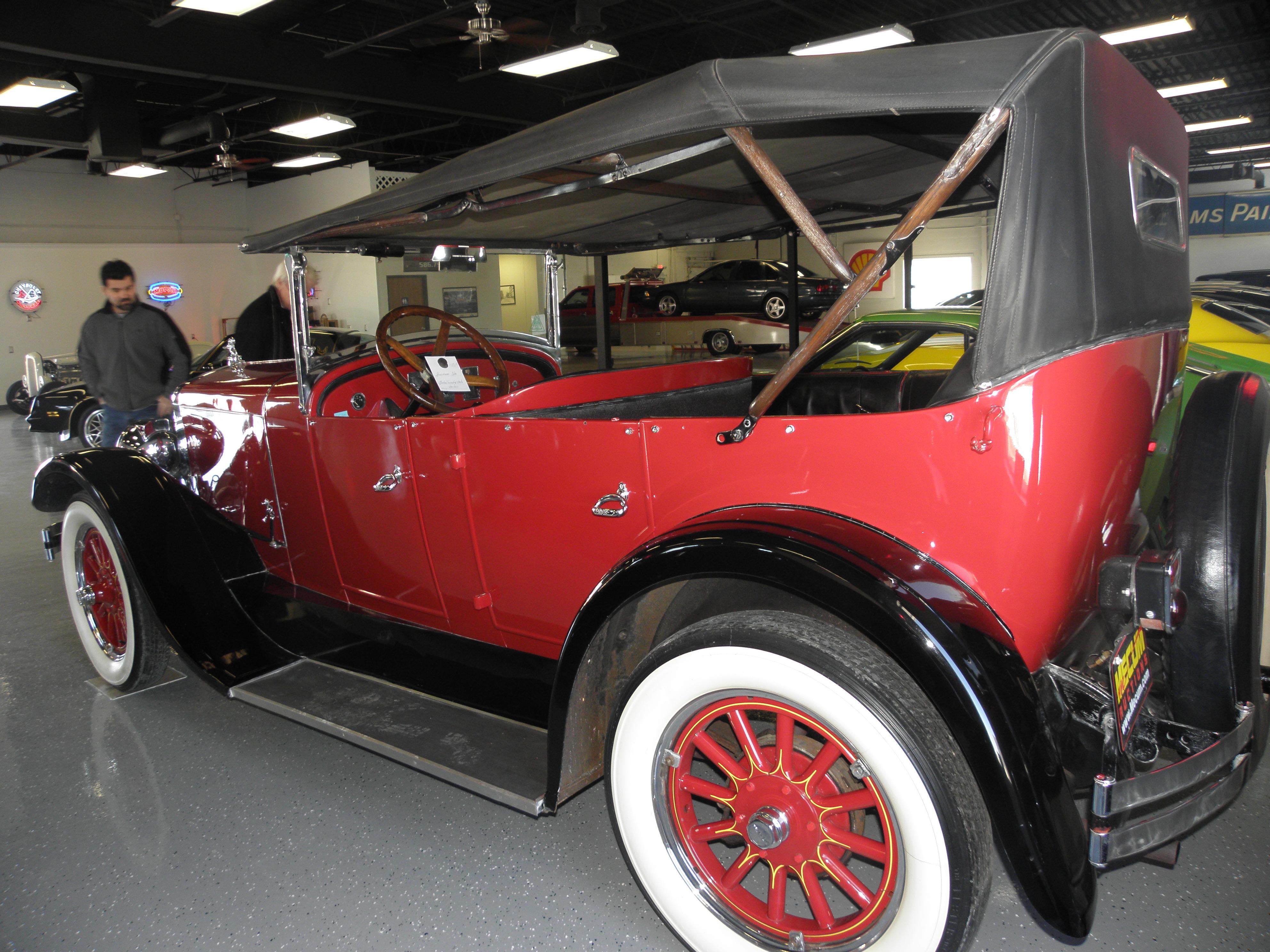 1925 FRANKLIN PHAETON