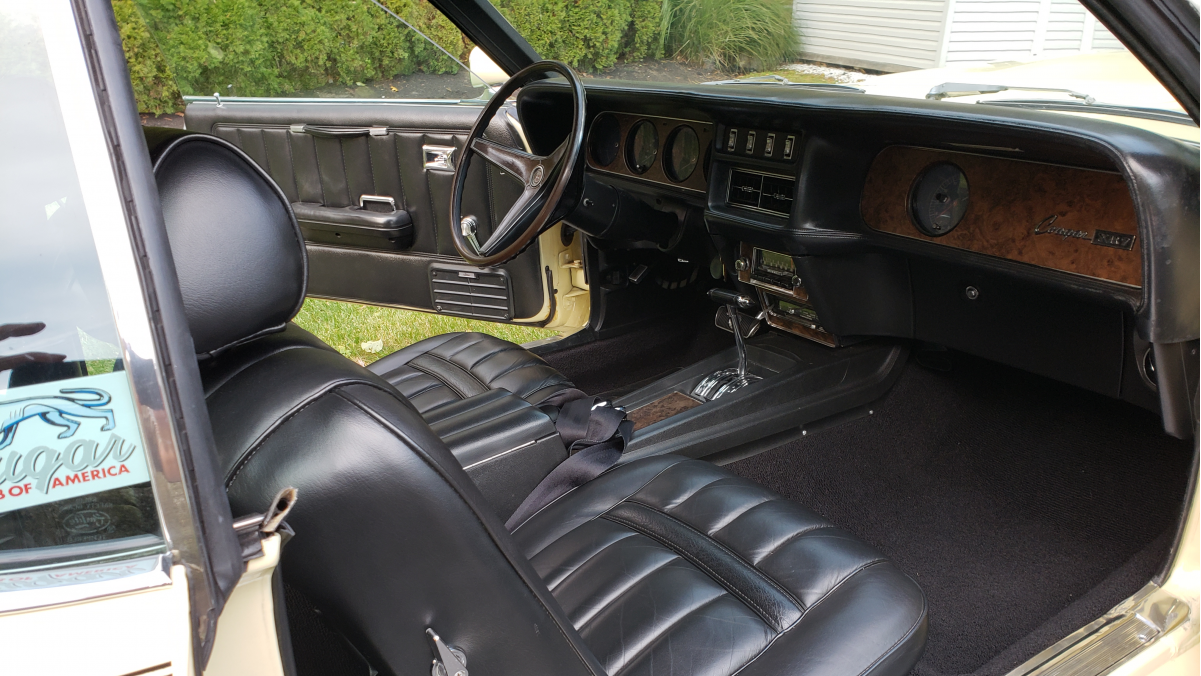 1969 COUGAR 428 CJ CONVERTIBLE