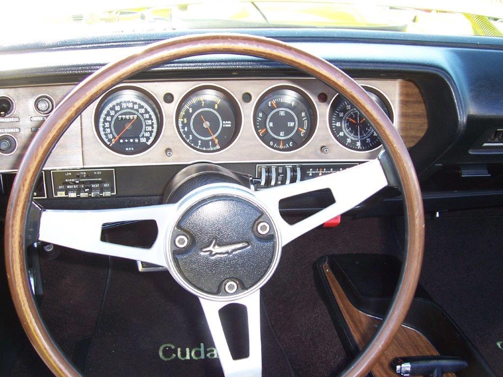1970 CUDA 383 CONVERTIBLE