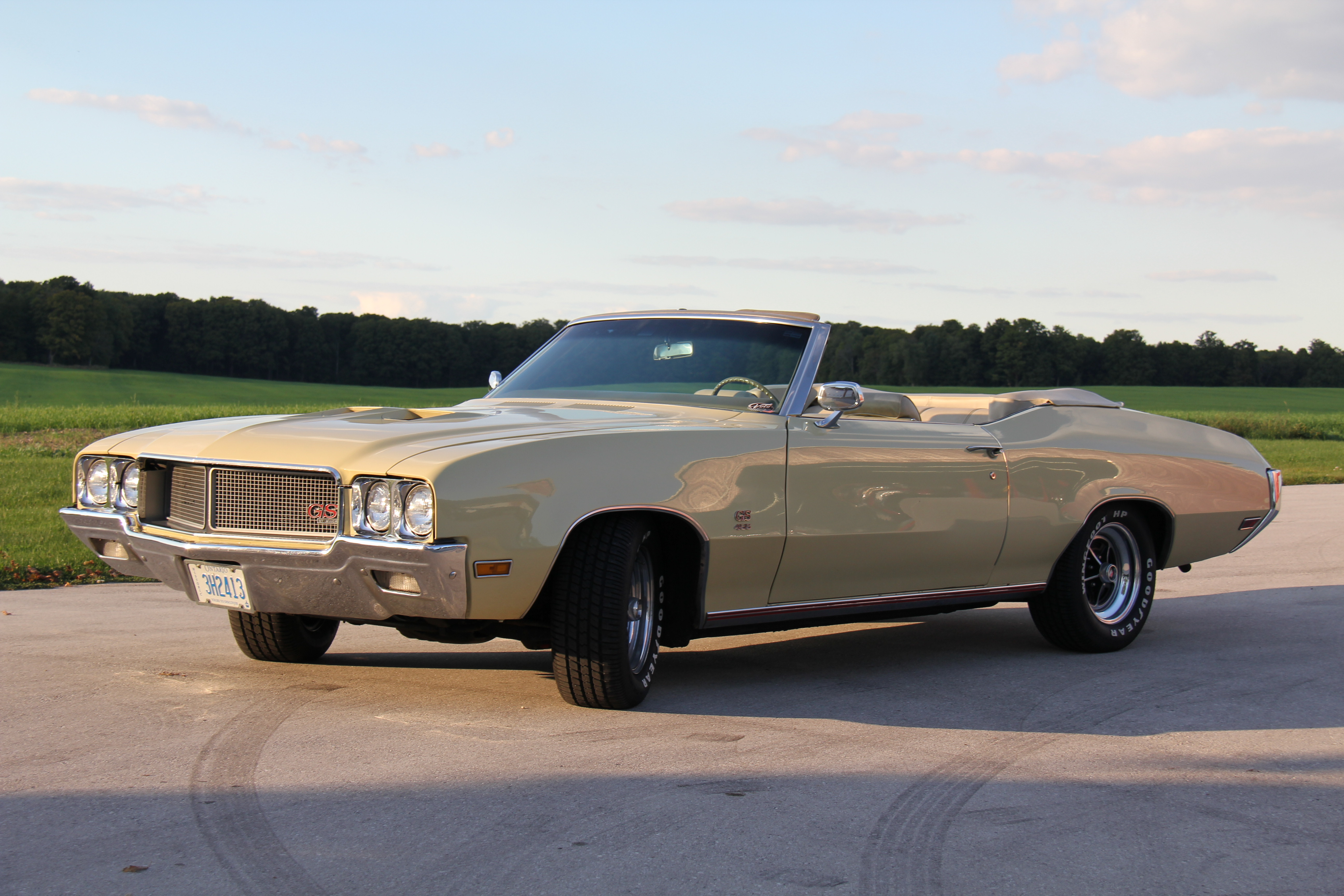 1970 BUICK 455 GS